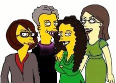 Family Tree Magazine staff, Simpsonized: Dobush, Dezarn, Stacy and Haddad