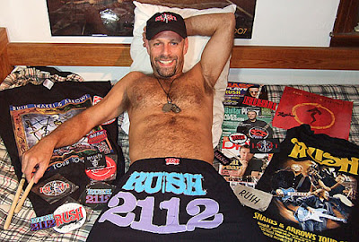 Yes, he really does have Rush underwear!