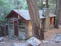 Cabin in lower Icehouse Canyon