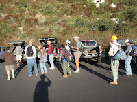 Gathering at the Upper Bear Creak Trailhead