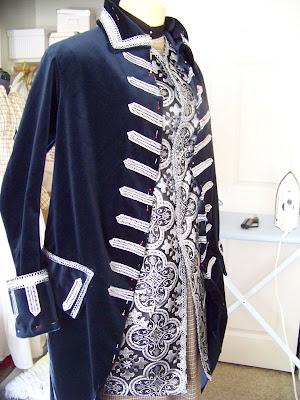 Ubersexlich James 18th C Suit Progress American Duchess