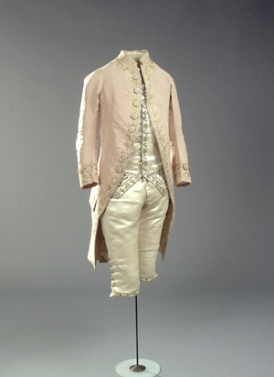 James Fantastic 18th Century Suit Starting Line