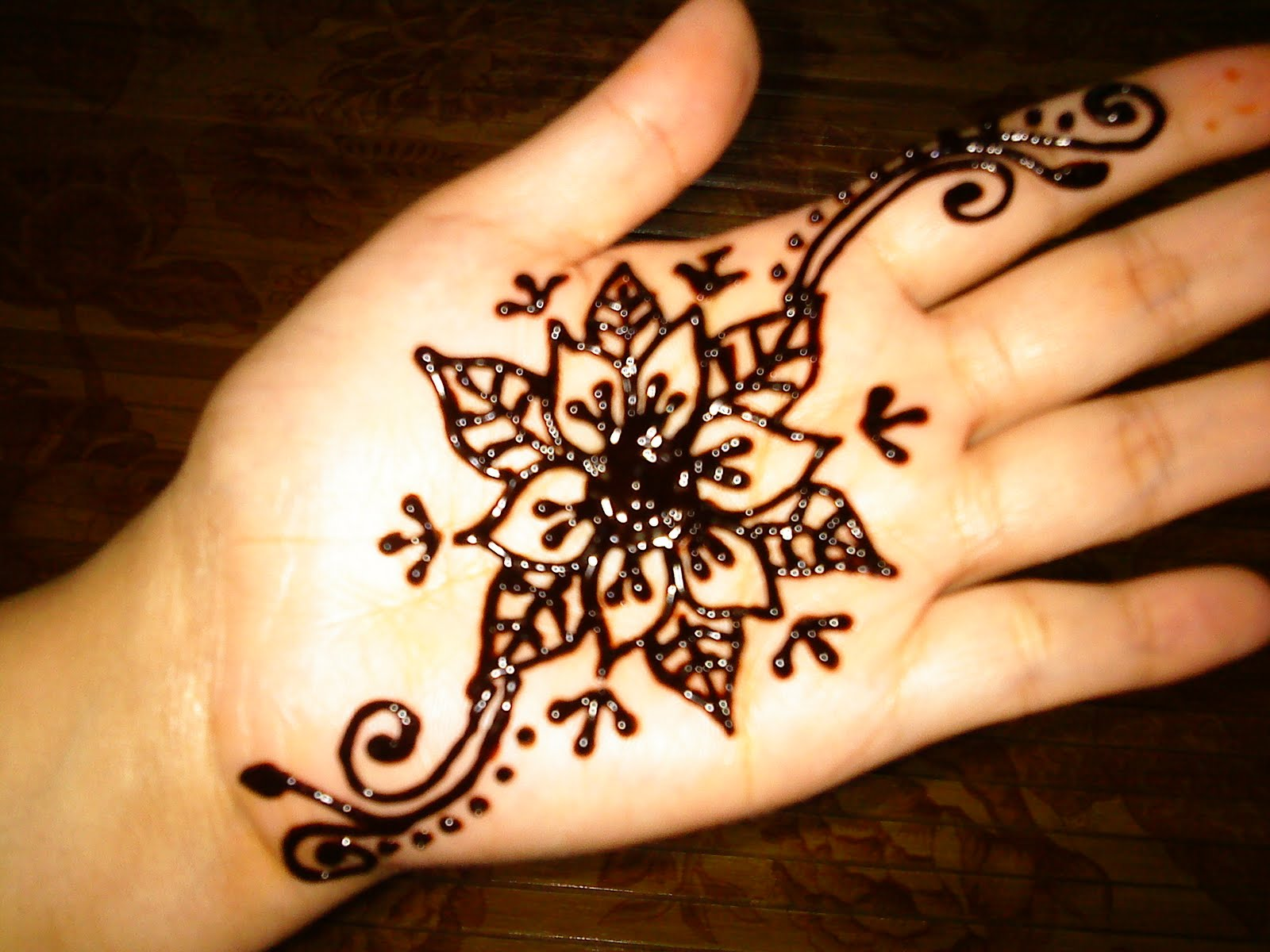 Reddishlicious Bridal Henna Sample