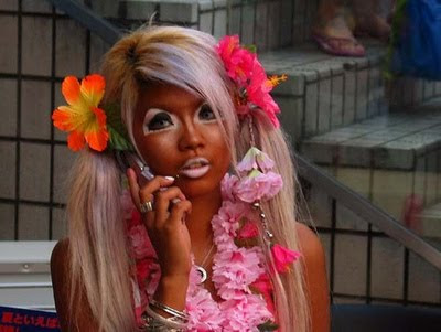 From Japan With Love Makeup Tutorial For The Harajuku Ganguro Style