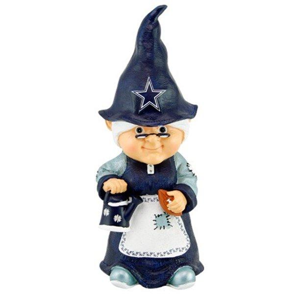 Female Gnome: Garden Gnomes Make Me Smile: Female Dallas Cowboys Garden