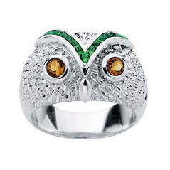Karen Walker Owl Ring