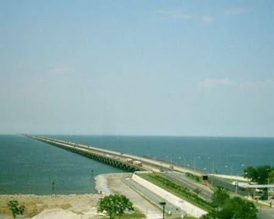 lake pontchartrain causeway - Ten Longest Bridges In World