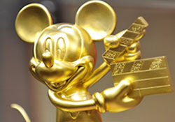 Golden Mickey Mouse