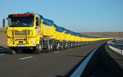 longest truck in the world