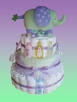 Rattlecake Diaper Cake Dish New Diaper Cake Jungle Luv