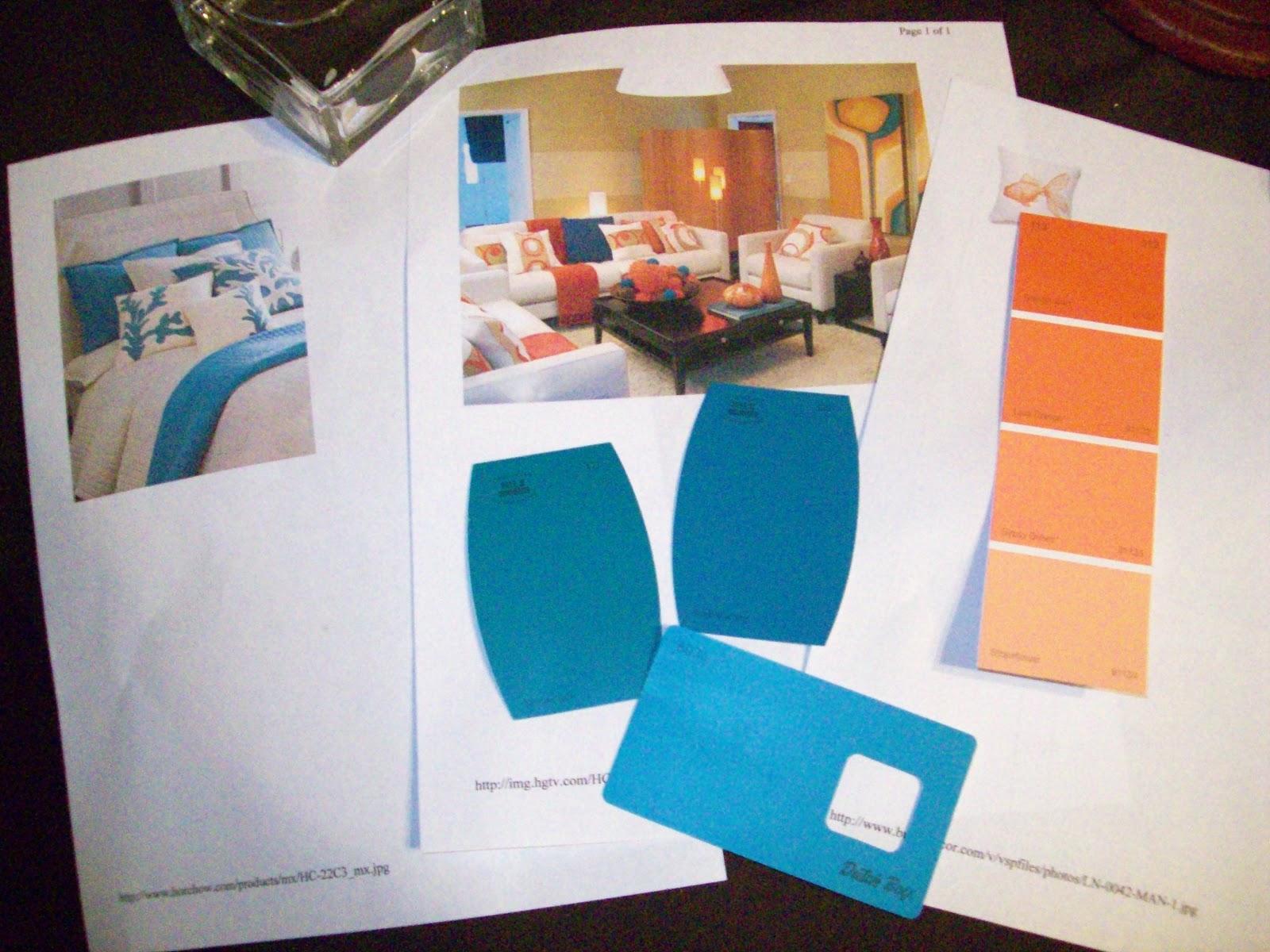 Danielle S Decor Modern Beach Themed Bedroom With A Color