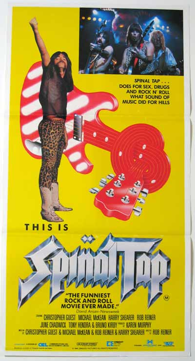 This Is Spinal Tap's Aussie poster
