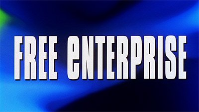 Free Enterprise opening titles