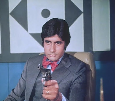 Amitabh Bachchan, back in the days when he wasn't doing that Spencer Pratt creepy light-colored beard thing