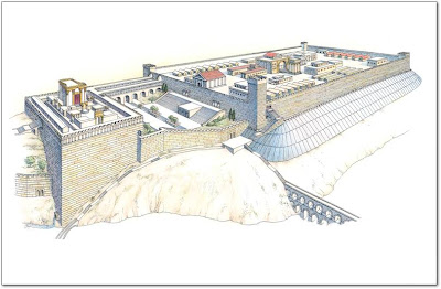 Reconstruction of Herod's temple and Fort Antonia
