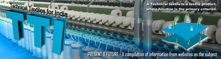 TECHNICAL TEXTILES  FOR  INDIA