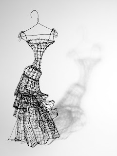 stylogy: wire couture..! from stylogy.blogspot.com