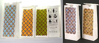 stylogy: designer sickness bags