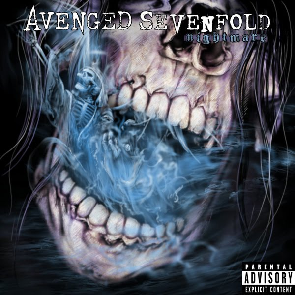 coverlandia the 1 place for album single cover 39 s avenged sevenfold nightmare official. Black Bedroom Furniture Sets. Home Design Ideas