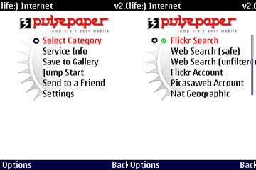 Pulsepaper 2.0 - программа динамической смены обоев на телефоне
