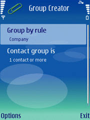 Group Creator for Nokia S60 3rd