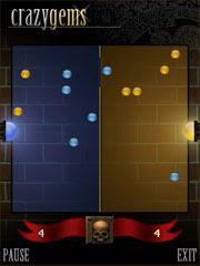 Crazy Gems 1.0 - Бесплатная Flash Lite игра для телефонов Nokia Series 60