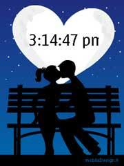 Бесплатный Flash Lite скринсейвер к дню Святого Валентина