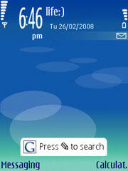 Google Search Application for Nokia S60 3rd edition