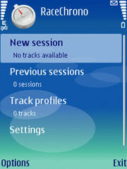 RaceChrono for Nokia S60