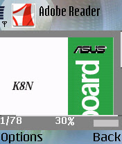 Free Adobe Reader for Symbian OS
