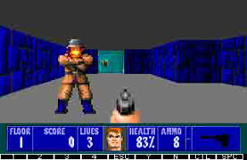 Wolfenstein 3D for Nokia S60 3rd edition
