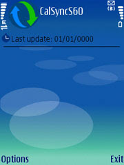 CalSyncS60 0.1.4 BETA for Nokia S60 3rd edition phones