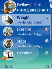 Wellness Diary - A mobile application for storing and analyzing health-related items in everyday life