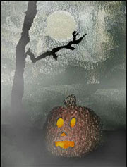 Halloween - Free Flash Lite Screensaver/Wallpaper for mobil phone