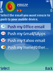 emoze – Free Push email, mobile email software for mobile devices