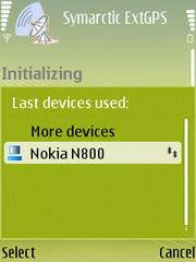 ExtGPS for Nokia N95, E90, 6110 Navigator