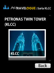 M-Travelogue Shopping Mall: Suria KLCC is a free Flash Lite Guide