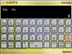 cCalcPro for Nokia E61 only
