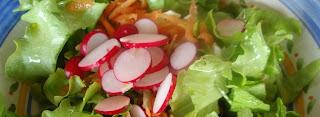 ensalada con rabanitos