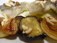 bacalao con hortalizas