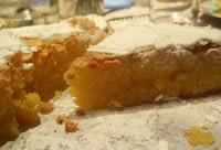 tarta de Santiago (almendra)