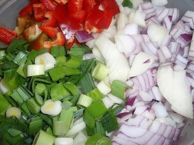 verduras para guisar las carrilleras