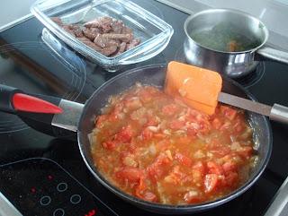 salsa para el arroz a la cubana