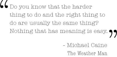 Michael Caine.