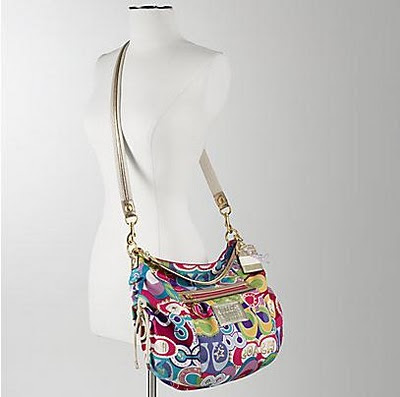 182aead7e8 Color   Multi color. Summer s hottest colors with shining gold trim and  classic Coach detailing~!! Can be worn as shoulder and crossbody bag~!!  )
