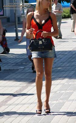 street girl candid