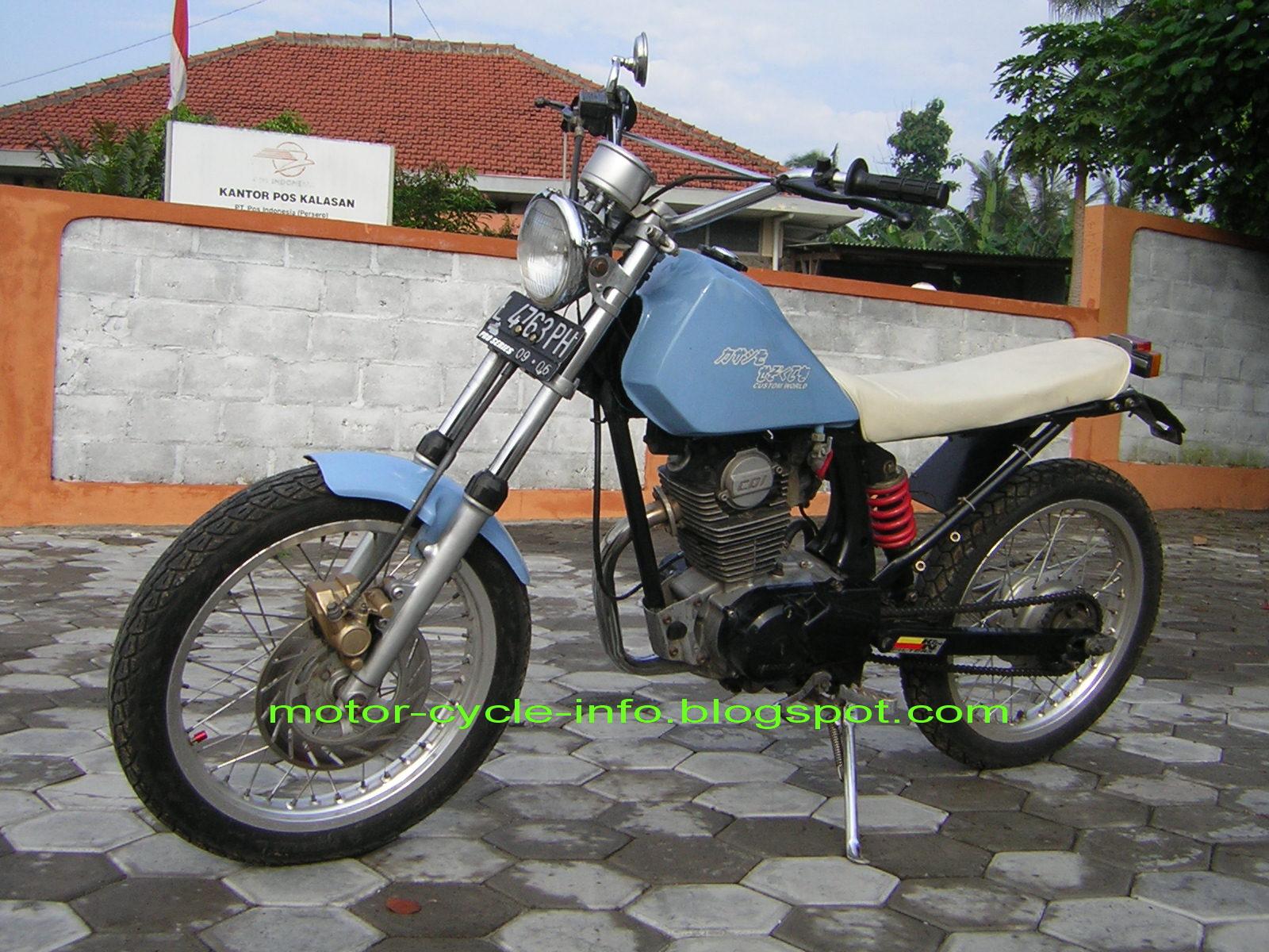Modification Honda GL Extreme