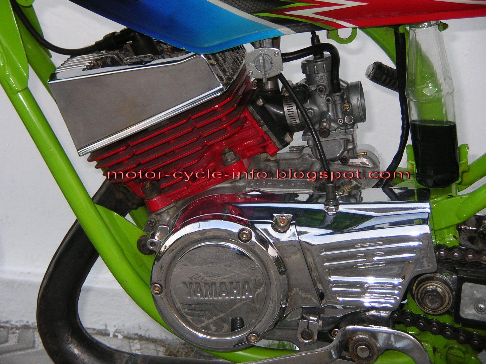 Rx King Standar Modifikasi Motor Modifikasi Yamaha Rx King Standar