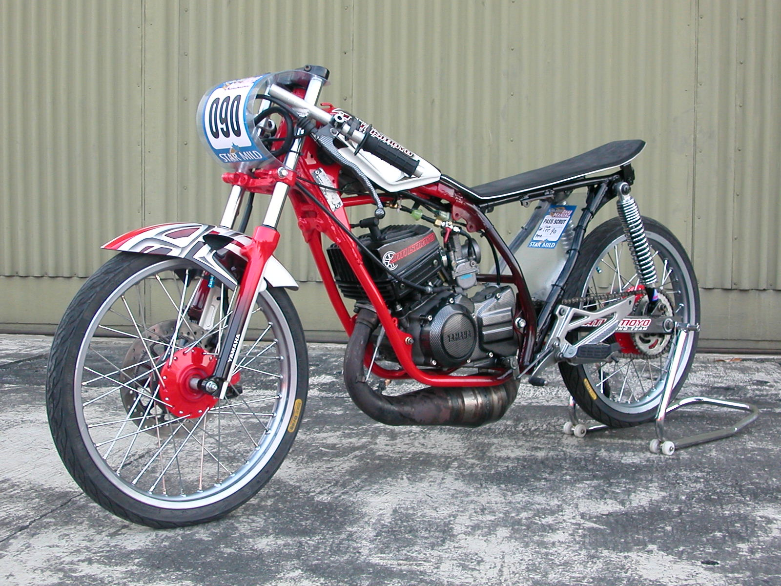 Drag modifikasi motor rxz drag Motor Klop  otokrum