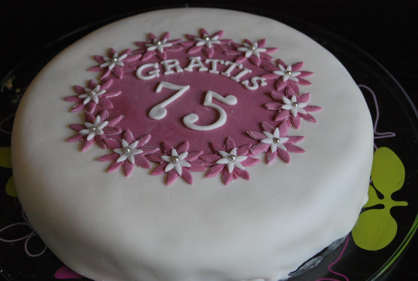 grattis på 75 årsdagen nybakadamatör: Grattis mormor 75 år grattis på 75 årsdagen
